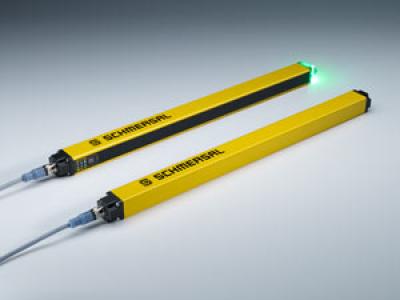 Schmersal - Multifunkcionális optoelektronikai termékek: új biztonsági fényfüggöny és fényrács