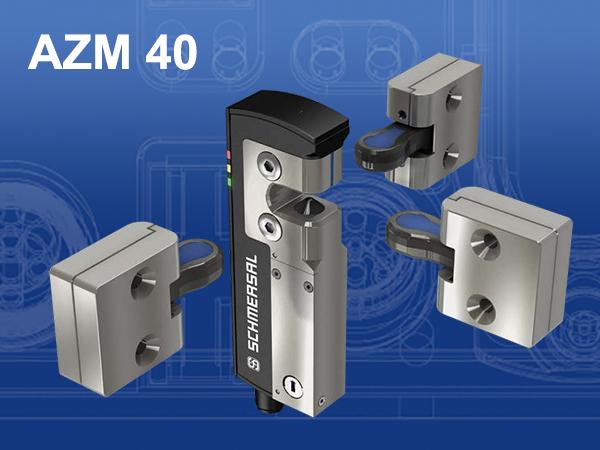 AZM40: a világ legkisebb elektronikus gépbiztosági reteszkapcsolója a Schmersal-tól